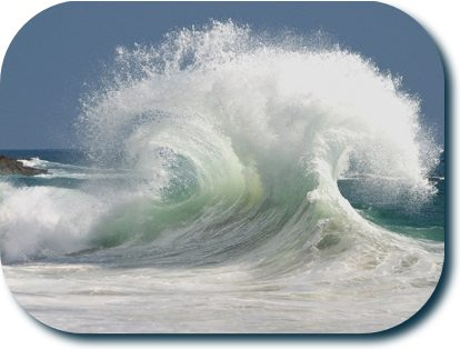 Picture of a really cool wave
